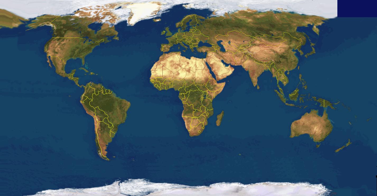 Wereld kaart - De thuisbasis van de wereld chesterfield ...